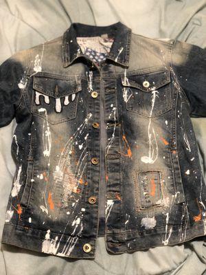 Designer Jean jacket for Sale in Silver Spring, MD