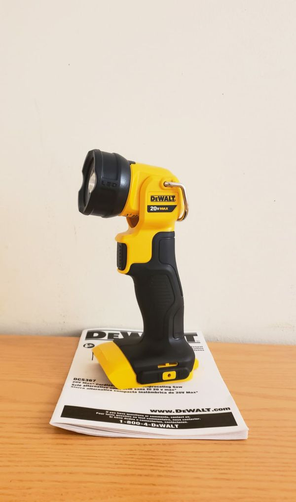 New Dewalt DCL040 20-Volt Max Lithium-Ion LED Worklight