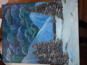 Original acrylic painting by Lorena Catarina Garcia for Sale in Groves, TX