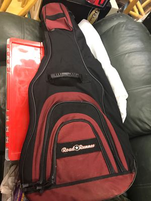 Road Runner guitar bag padded many places for storage for Sale in Old Hickory, TN