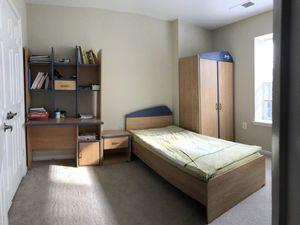 Bedroom set - MDF wood for Sale in Alexandria, VA