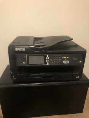 Epson WorkForce WF-7720 wireless, color inkjet printer (copy, fax, scan, usb/flash drive) for Sale in Capitol Heights, MD