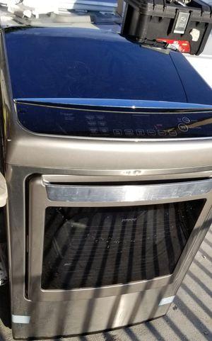 LG steam Dryer stainless $195 for Sale in Harlingen, TX