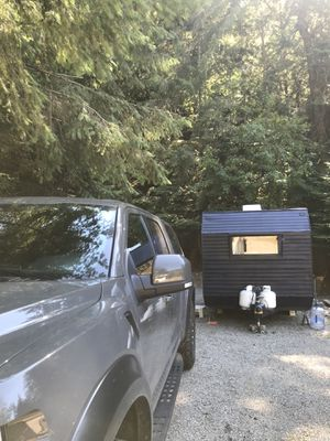 1970 security trailer. 10ft 1500lbs weight for Sale in Peshastin, WA