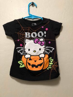 18M Hello Kitty Halloween Shirt for Sale in Tolleson, AZ