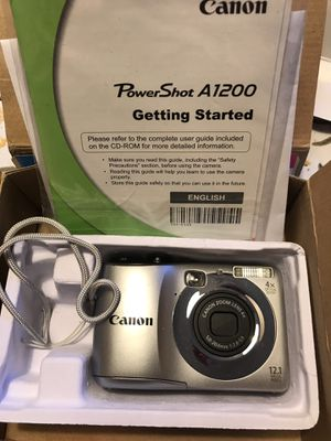 Canon PowerShot A1200 Digital Camera for Sale in Austin, TX