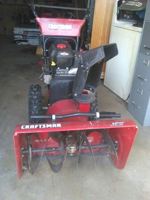 Craftsman snow blower for Sale in Chicago, IL