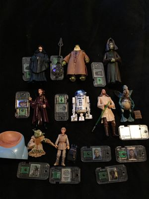 STAR WARS EPISODE ONE , PHANTOM MENACE ACTION FIGURES AND ACCESSORIES LOT for Sale in Trafford, PA