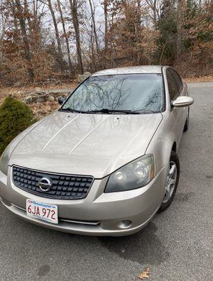 2006 Nissan Altima 2.5 for Sale in Fall River, MA