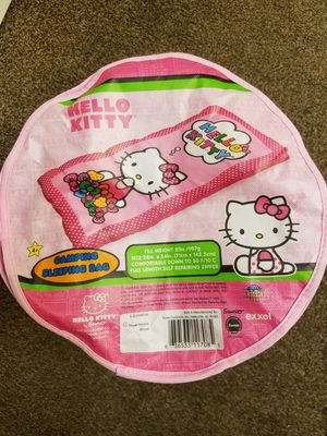 Hello Kitty Sleeping Bag & Cup *Please Read Full Post* for Sale in Las Vegas, NV