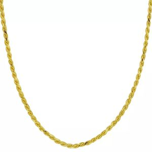 REAL 10K SOLID GOLD Rope Chain Necklace (NEGOTIABLE) for Sale in Riverside, CA