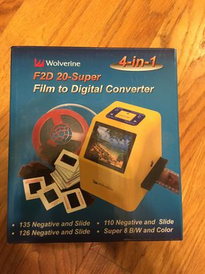 Film to Digital Converter for Sale in Glenmont, NY