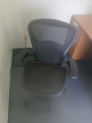 Office chairs great condition. Conference room tables and chairs. Leather seats. Great for starting office. Great deals must go! for Sale in Lake Forest, CA