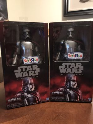"Star Wars Captain Phasma TOYS""R""US 12 Doll for Sale in Coral Springs, FL"
