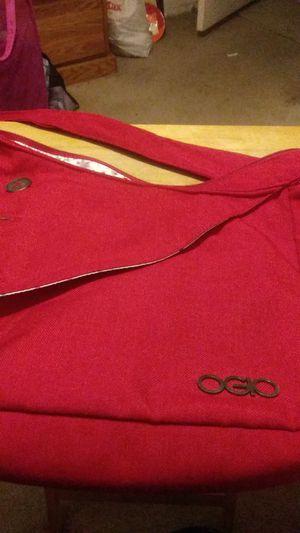 Ogio Red Canvas Messenger Bag for Sale in Las Vegas, NV