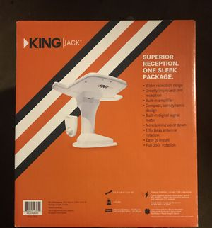 King Jack Digital HDTV Antenna + Mount (Rv's) for Sale in Anaheim, CA