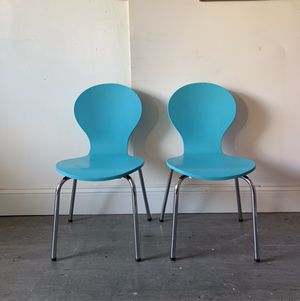 2 Kid Stackable chairs for Sale in Garner, NC