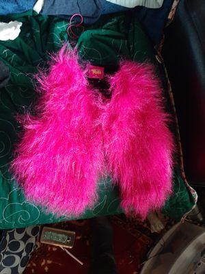 Trolls fuzzy vest size sm for Sale in Pleasanton, CA