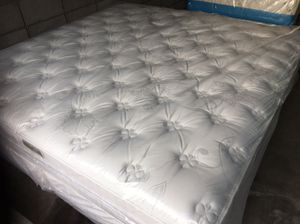 Brand new and comfortable King size bed/Mattress and box springs.Free delivery for Sale in Vallejo, CA