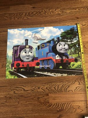 Thomas and friends - Thomas, Charlie & Harold large 24 piece puzzle for Sale in Cumming, GA