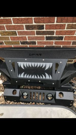 Jeep Wrangler metal coated grill for Sale in Gambrills, MD