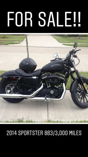 2014 Harley 883 Iron for Sale in Victoria, TX