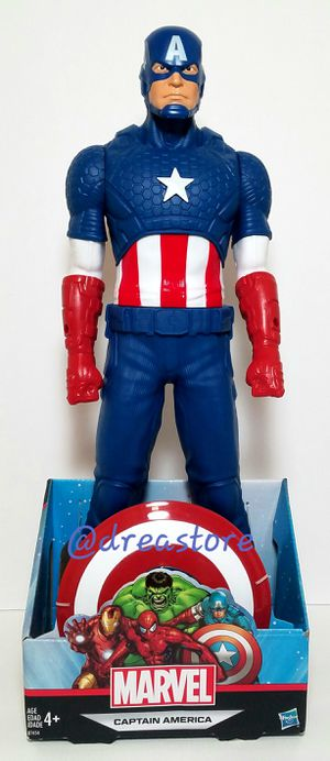Marvel Captain America With Shield 20in Basic Figure for Sale in West Hollywood, CA