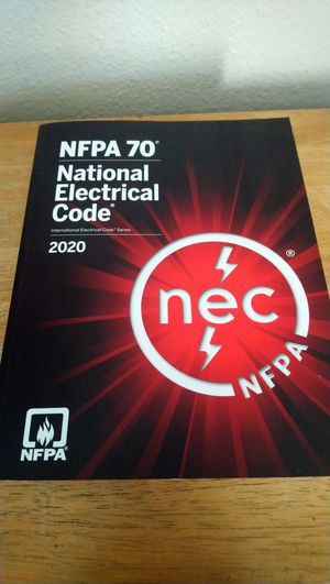 NFPA 70 NEC 2020 CODEBOOK National Electrical Code For Electricians Tool Tools for Sale in Chula Vista, CA
