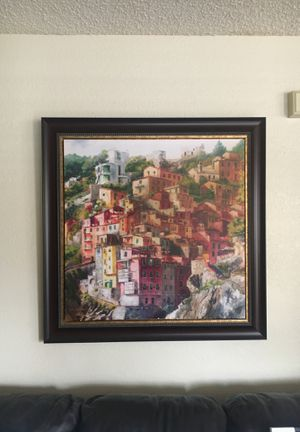 Canvas painting with frame for Sale in Las Vegas, NV