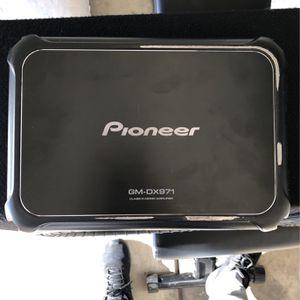 Mono Amp- Pioneer-2400 Watts. GM-DX971 for Sale in San Ramon, CA