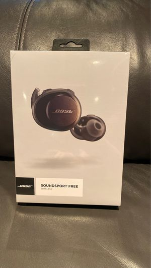 Bose Soundsport Free Wireless Earbuds Unopened for Sale in Southborough, MA