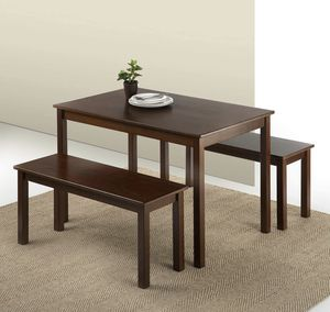 BRAND NEW THREE PIECE DINING TABLE SET for Sale in Kingsburg, CA