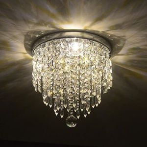 Ceiling Mount 2 Bulb Crystal Ball Chandelier Entryway Kitchen Hallway Bathroom for Sale in Hemet, CA