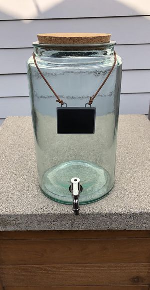 West Elm Glass Pitch w/ Spout for Sale in Renton, WA