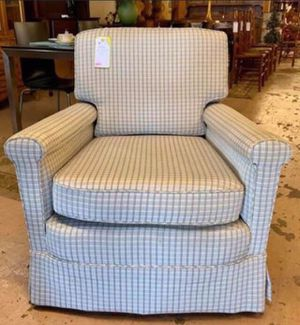 Blue-ish Grey Upholstered Arm Chair for Sale in Lehighton, PA