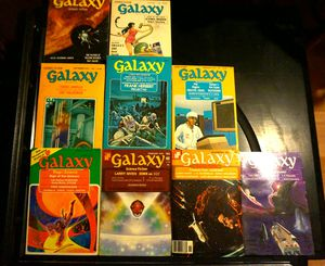 Vintage LOT of 14 Galaxy Science Fiction Magazine 1966-77 for Sale in Dover, FL