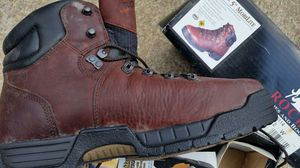 Rocky steel toe boots 12 W for Sale in Nashville, TN