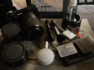 Sony Alpha 3600 W/extra lenses for Sale in Seattle, WA