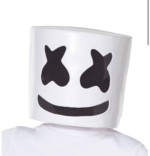 Kids Marshmello Costume Mask $15 for Sale in Philadelphia, PA