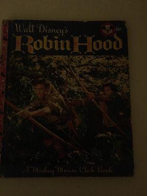 Walt Disney Robin Hood for Sale in Fair Oaks, PA