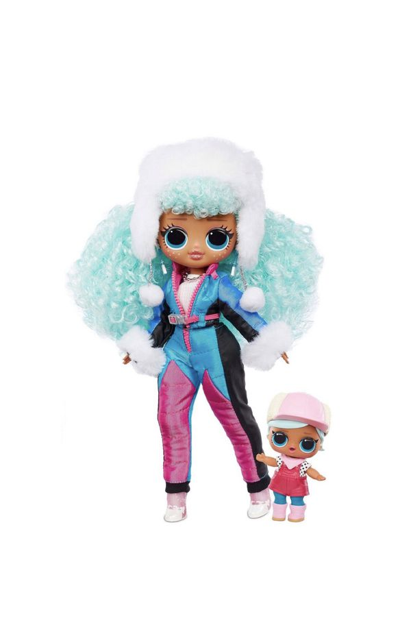 LOL SURPRISE OMG Winter Chill Icy Gurl & BRRR B.B Doll With 25 SURPRISES