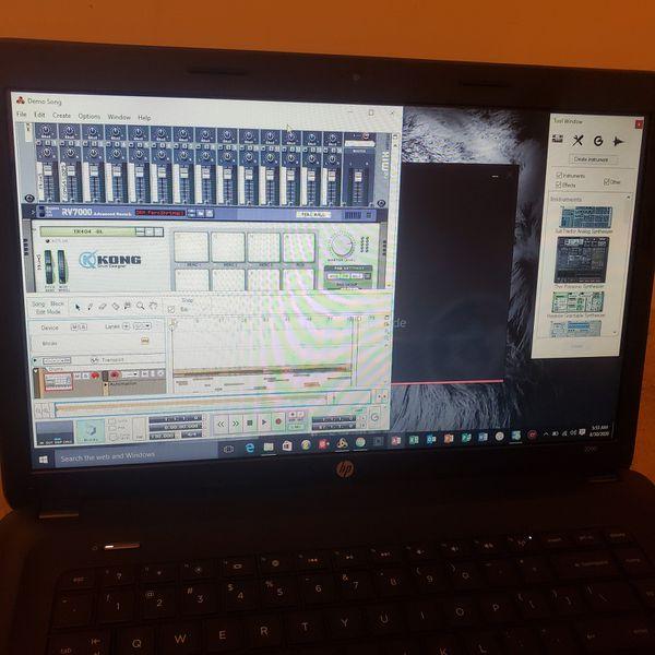 HP Notebook/Virtual DJ/Reason 5 Studio/Microsoft Office/iTunes and More
