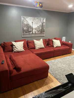 Red Sectional couch for Sale in Woodbridge, VA