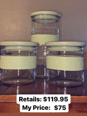 Princess House Storage Containers for Sale in San Luis Obispo, CA