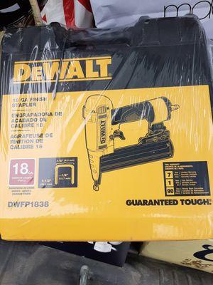 Dewalt finishing stapler for Sale in Medford, OR