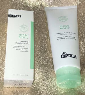 dr.brant Hydro Biotic Recovery Sleeping Mask and Clean Biotic Cleanser for Sale in Long Beach, CA
