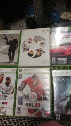 $10 each. 5 xbox 360 games and one wii game. A for Sale in Wichita, KS