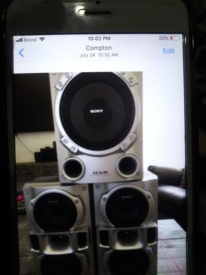 20$ house speakers for Sale in CRYSTAL CITY, CA