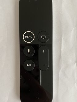 Remote for Apple TV 4th MQD22L/A A1962(used,free case) for Sale in Rosemead,  CA