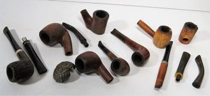 REDUCED! Antique Vintage Hand Carved Wood Smoke Pipes for Sale in Davie, FL